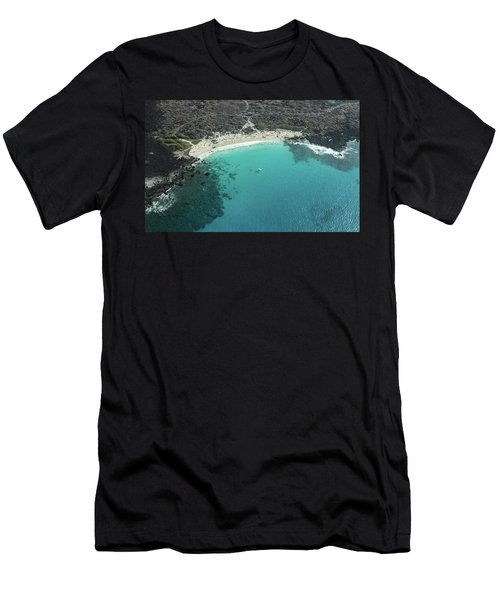 Kua Bay Aerial Men's T-Shirt (Athletic Fit)