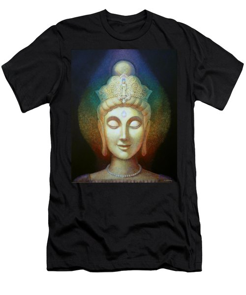 Kuan Yin's Light Men's T-Shirt (Athletic Fit)