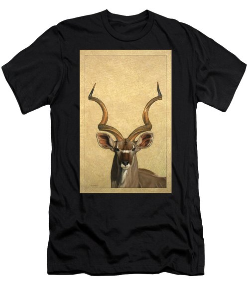 Kudu Men's T-Shirt (Athletic Fit)