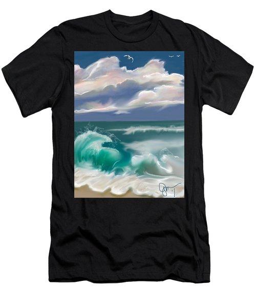 Kure Beach Men's T-Shirt (Athletic Fit)