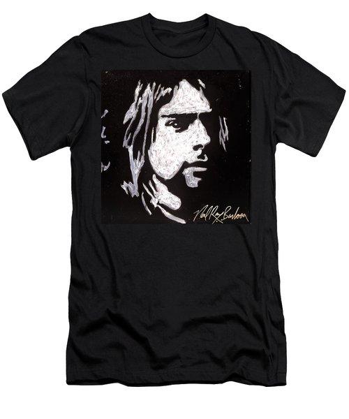 Kurt Kobain Men's T-Shirt (Athletic Fit)