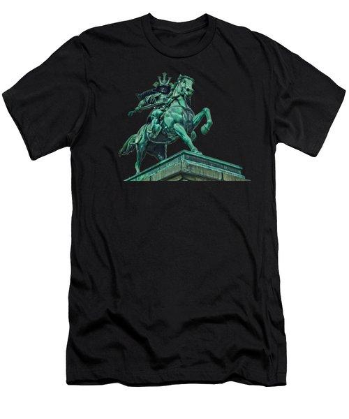 Kusunoki Masashige Close Up Men's T-Shirt (Athletic Fit)