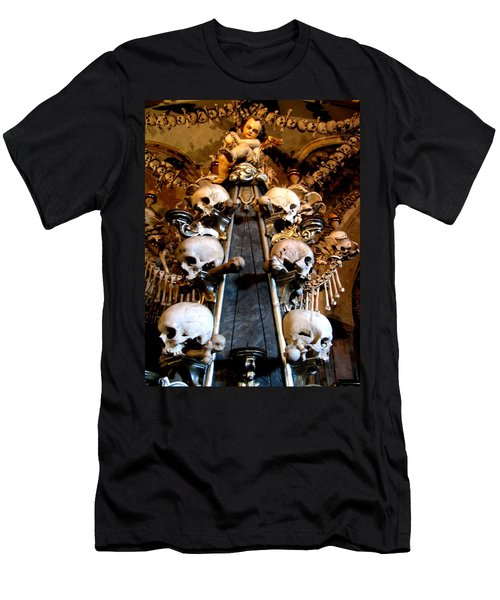 Men's T-Shirt (Athletic Fit) featuring the photograph Kutna Hora Cz by Michelle Dallocchio