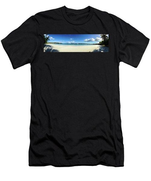 Kuto Bay Morning Pano Men's T-Shirt (Athletic Fit)