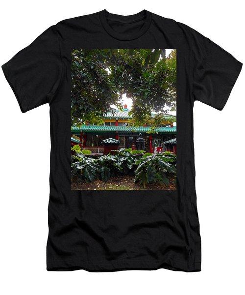 Kwon Yin Temple 4 Men's T-Shirt (Athletic Fit)