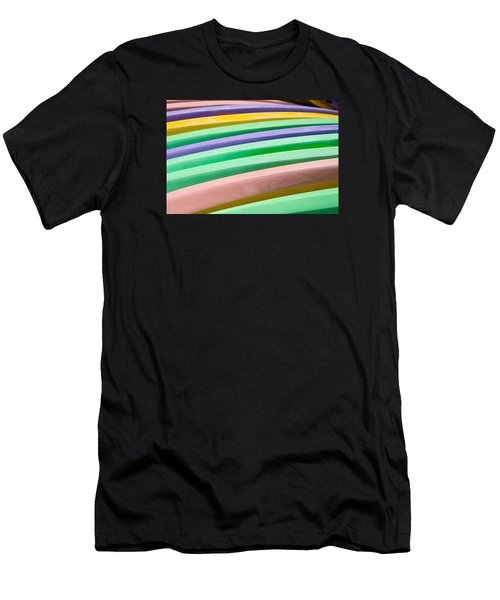 Kyak Rainbow Men's T-Shirt (Athletic Fit)