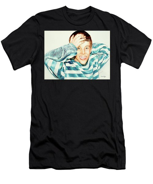 Kyle's Smile Or Fragile X Stressed Men's T-Shirt (Athletic Fit)