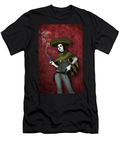La Bandida Muerta Men's T-Shirt (Athletic Fit)