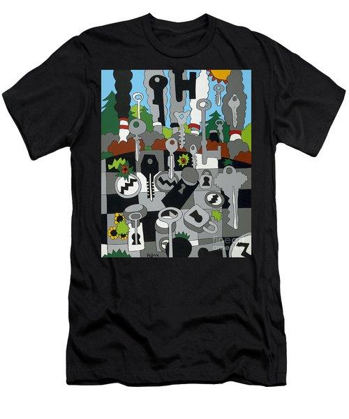 La Basin Men's T-Shirt (Athletic Fit)