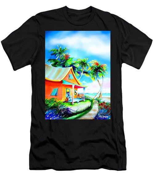 La Casa Cayo Hueso Men's T-Shirt (Athletic Fit)