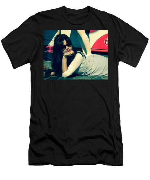 Men's T-Shirt (Slim Fit) featuring the photograph La Dolce Vita  by Paul Lovering