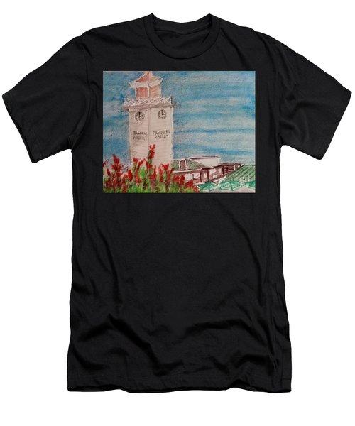 La Farmer's Market Men's T-Shirt (Athletic Fit)