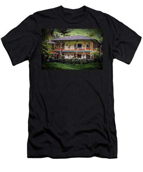 La Finca De Cafe - The Coffee Farm Men's T-Shirt (Athletic Fit)