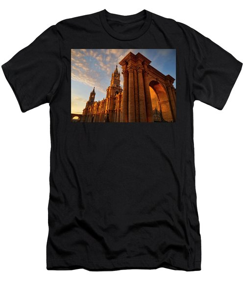 Men's T-Shirt (Slim Fit) featuring the photograph La Hora Magia by Skip Hunt