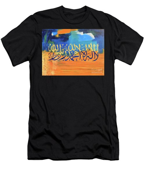 La-illaha-ilallah-3 Men's T-Shirt (Athletic Fit)