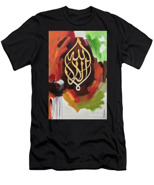 La-illaha-ilallah Men's T-Shirt (Athletic Fit)