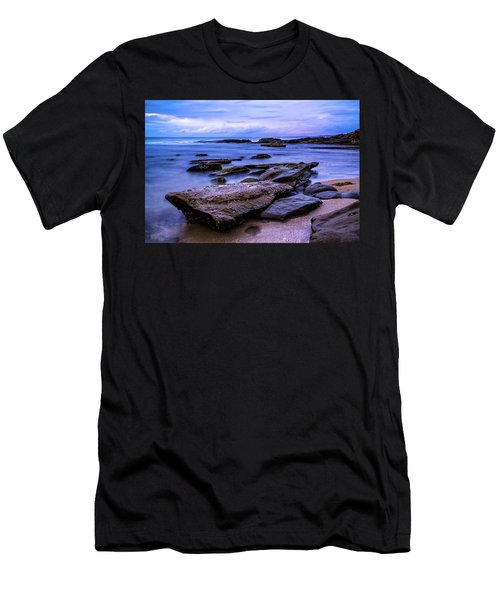 La Jolla Cove Twilight Men's T-Shirt (Athletic Fit)