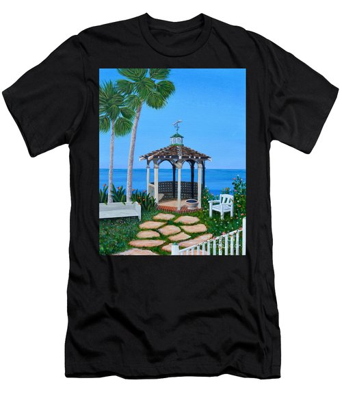 La Jolla Garden Men's T-Shirt (Athletic Fit)