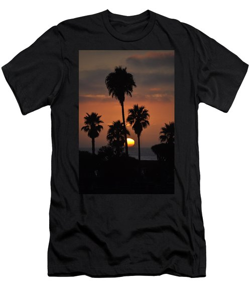 La Jolla Sunset Men's T-Shirt (Athletic Fit)