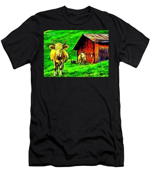 La Vaca Men's T-Shirt (Athletic Fit)