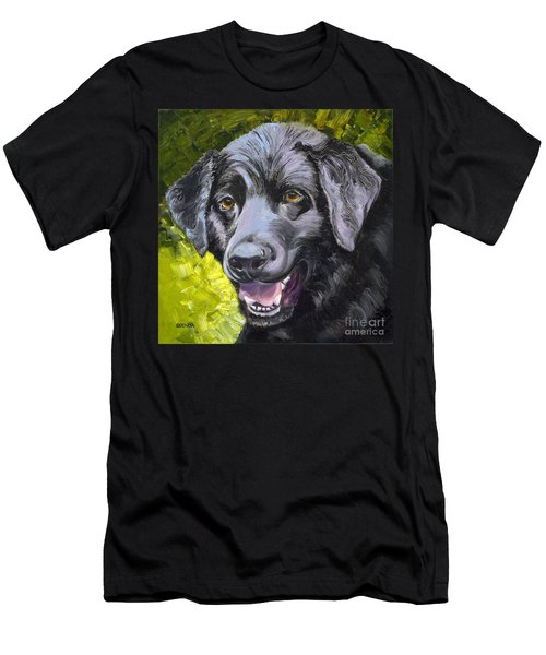 Lab Out Of The Pond Men's T-Shirt (Athletic Fit)