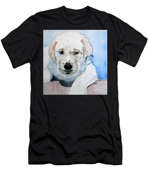 Lab Puppy Men's T-Shirt (Athletic Fit)