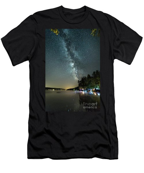 Labor Day Milky Way In Vacationland Men's T-Shirt (Athletic Fit)