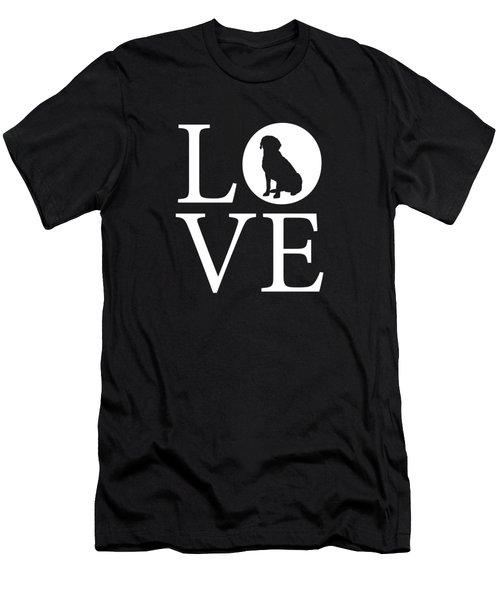 Labrador Love Men's T-Shirt (Athletic Fit)