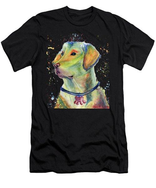 Labrador Retriever Art Men's T-Shirt (Athletic Fit)