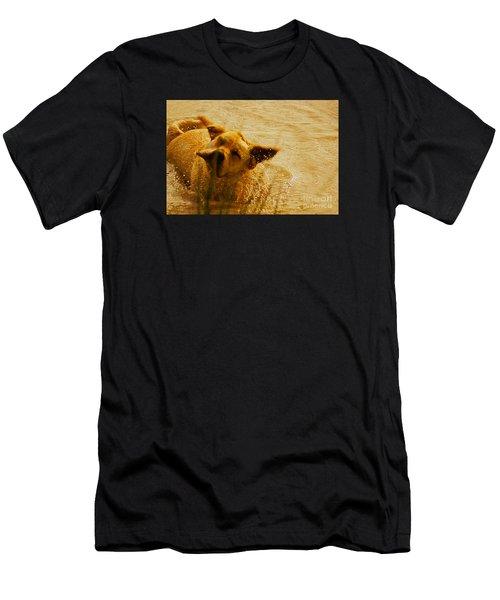 Labrador Retriever Men's T-Shirt (Athletic Fit)