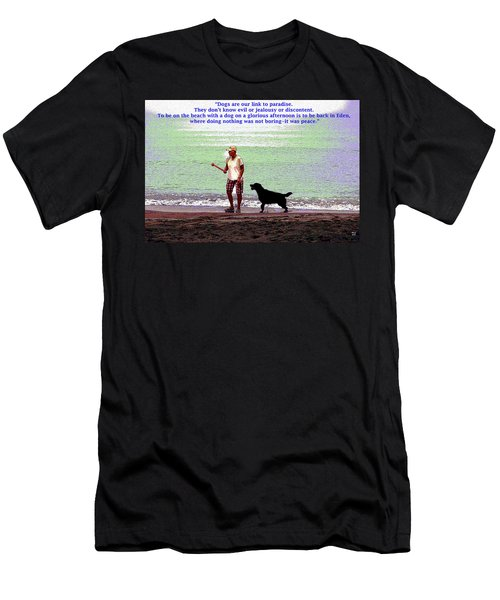 Labrador Retriever Men's T-Shirt (Slim Fit)
