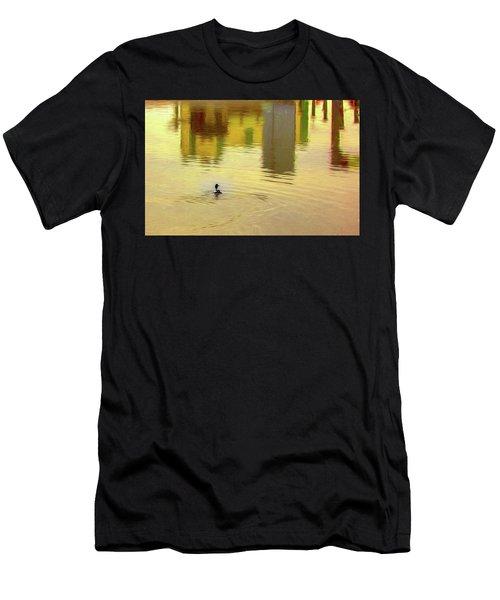 Labyrinthine #d7 Men's T-Shirt (Athletic Fit)