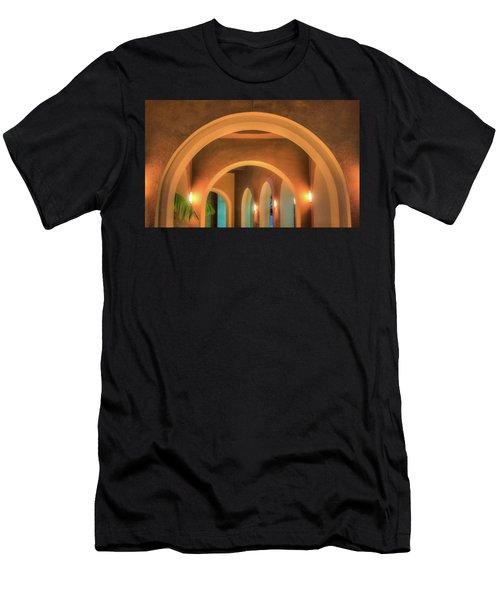 Labyrinthian Arches Men's T-Shirt (Athletic Fit)