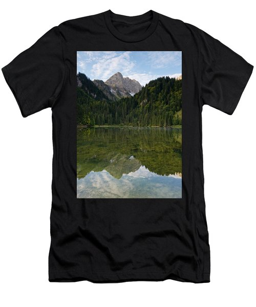 Lac Des Plagnes Men's T-Shirt (Athletic Fit)