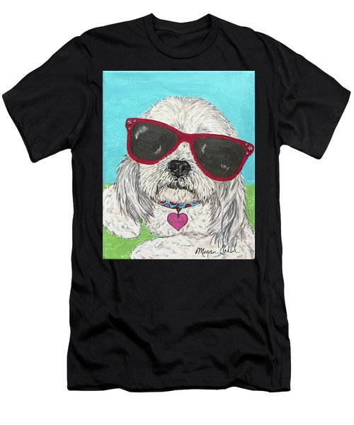 Laci With Shades Men's T-Shirt (Athletic Fit)