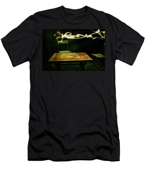 Men's T-Shirt (Athletic Fit) featuring the photograph Lacoste by Lucian Capellaro