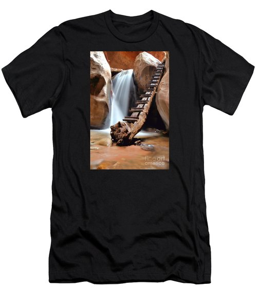 Ladder To Beyond Men's T-Shirt (Athletic Fit)