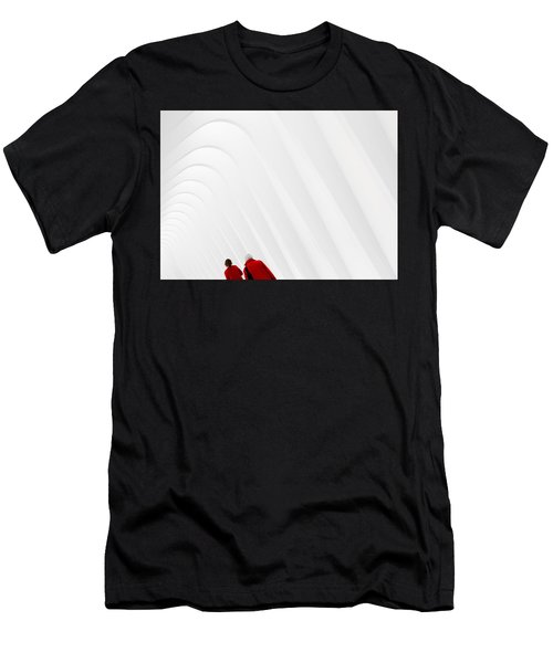 Ladies In Red Men's T-Shirt (Athletic Fit)