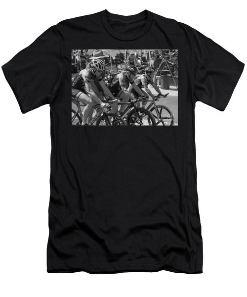 Ladies Team Pursuit Men's T-Shirt (Athletic Fit)