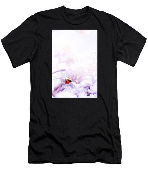 Lady Bug Men's T-Shirt (Athletic Fit)