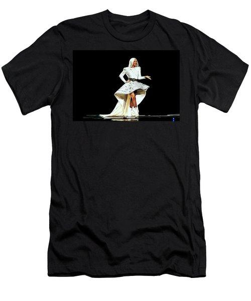 Lady Gaga Men's T-Shirt (Athletic Fit)
