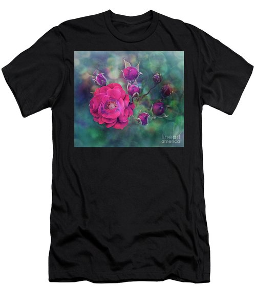 Lady Rose Men's T-Shirt (Athletic Fit)