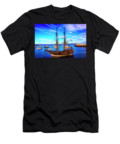 Lady Washington In Monterey Bay Men's T-Shirt (Athletic Fit)
