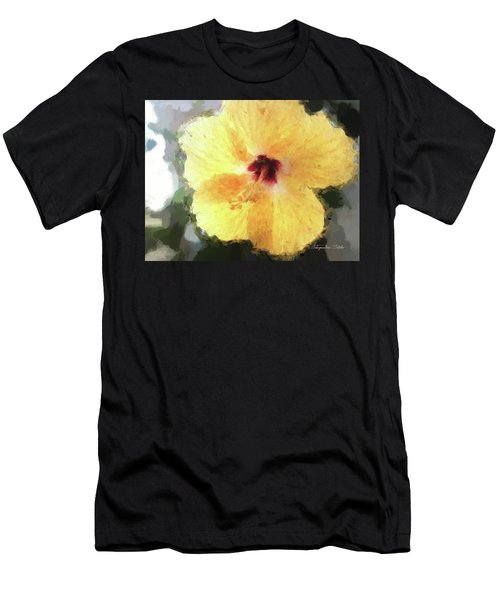 Lady Yellow Men's T-Shirt (Athletic Fit)