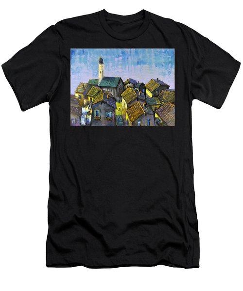 Lago   Caldonazza Men's T-Shirt (Athletic Fit)