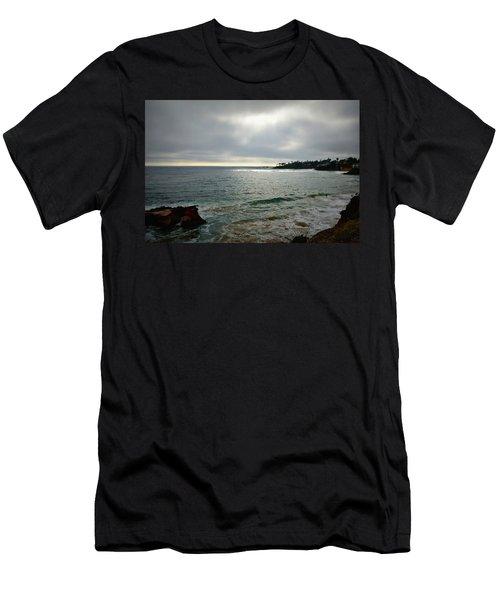 Laguna Beach Sunset Men's T-Shirt (Athletic Fit)