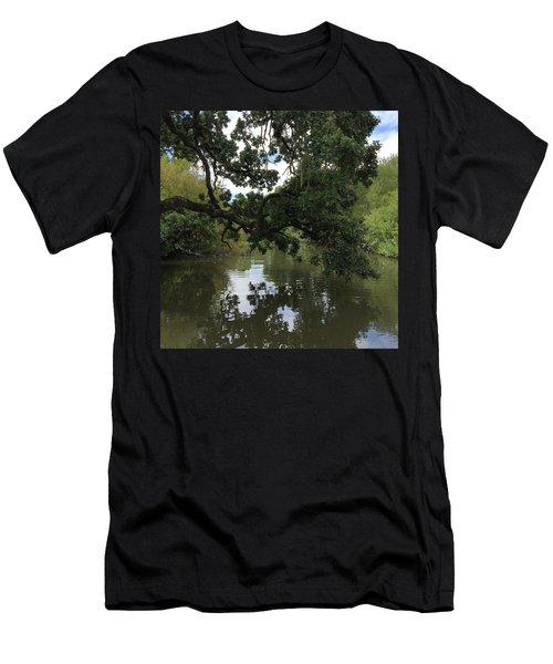 Laguna Bridge Men's T-Shirt (Athletic Fit)