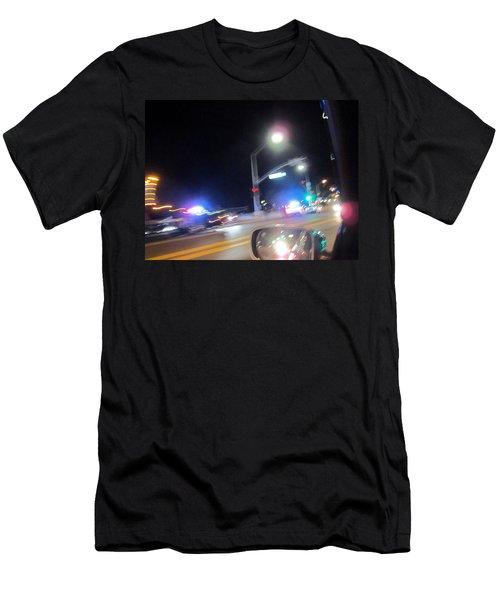Laguna Night Men's T-Shirt (Slim Fit) by Dan Twyman