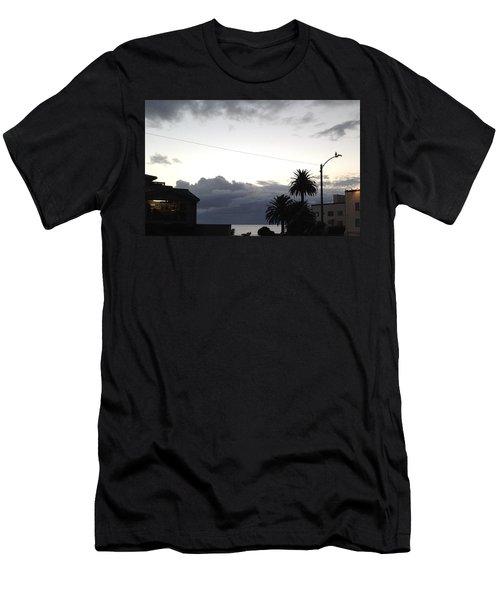 Laguna Rain 2015 Men's T-Shirt (Slim Fit) by Dan Twyman