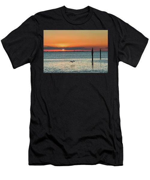 Laguna Vista Sunset Men's T-Shirt (Athletic Fit)